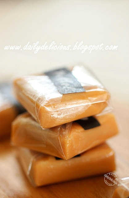 dailydelicious: Happy Cooking with LG SolarDOM: Caramel toffee
