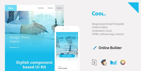 Cool - Responsive Email + StampReady Build - Email Templates Marketing