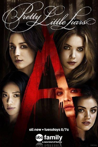Mis amigos and yo nos gustan charlamos sobre Pretty Little Liars. Pretty Little Liars es uno de Sara, Nicole, Caitlin, yo favorito programa de televisiòn.