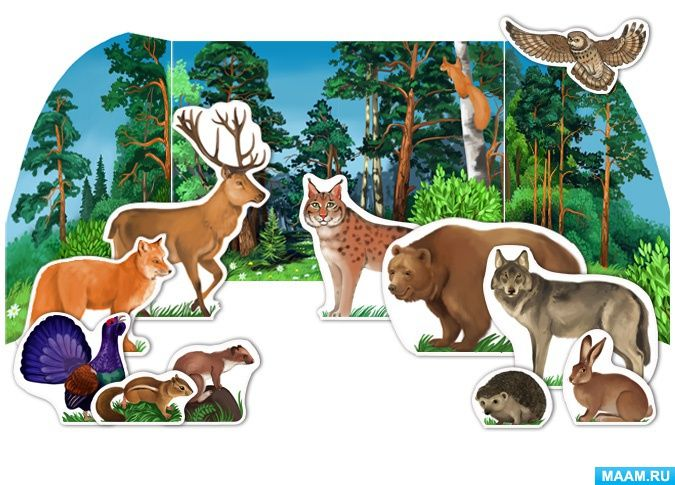 маленькие обитатели леса