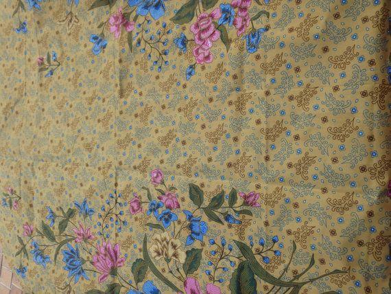 Traditional Indonesian batik fabric/sarong by bellingenlemonmyrtle