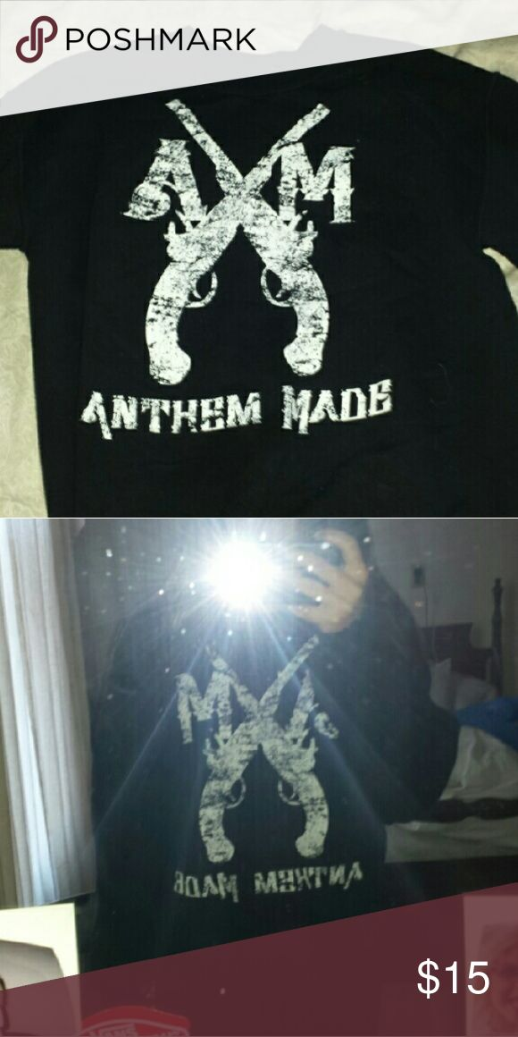 Sweater Black Anthem Made sweater Very cozy  I'm a medium and it's a little baggy on me Anthem made  Sweaters