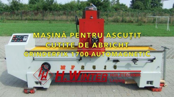 Masina pentru ascutit cutite de abric Winter Grinderfix 1700 Auto Magnetic