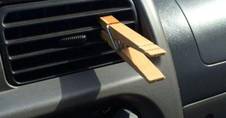 Ingénieux ! Désodoriser la voiture                                                                                                                                                     Plus