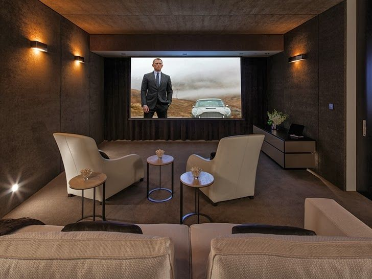 267 Best Home Theater Design Images On Pinterest | Cinema Room, Movie Rooms  And Architecture Part 53