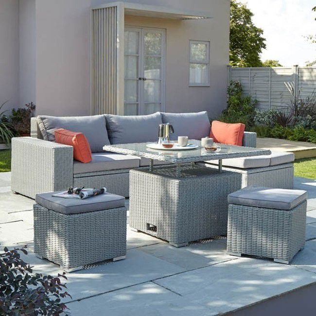 Modulowy Zestaw Mebli Ogrodowych Gabbs Outdoor Furniture Sets Diy Dining Table 4 Seater Dining Table
