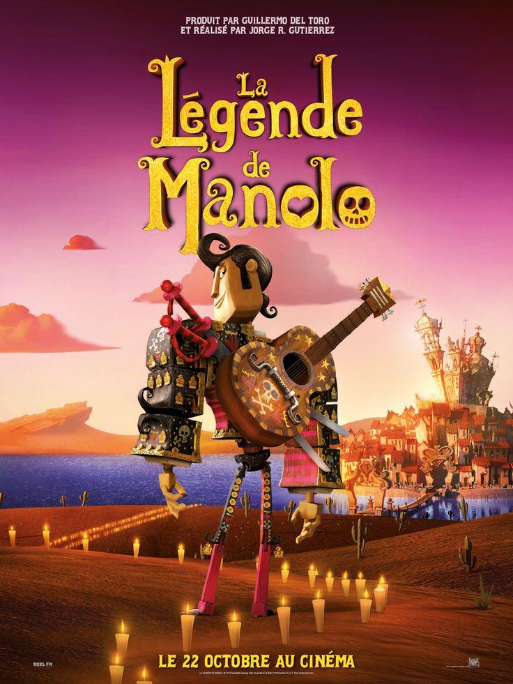 La Légende de Manolo est un film de Jorge R. Gutierrez avec Diego Luna, Zoe Saldana. Synopsis : Depuis la nuit des temps, au fin fond du Mexique, les esprits passent d'un monde à l'autre le jour de la Fête des Morts. Dans le village de San Ang