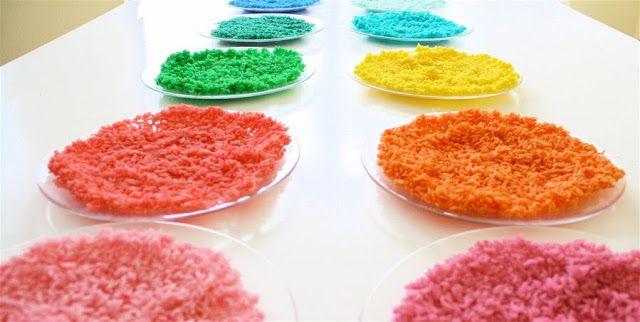 Colorear arroz