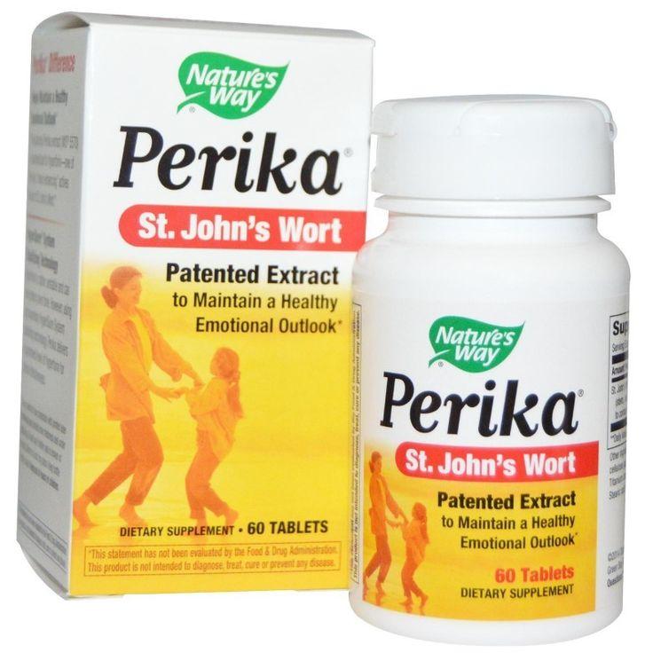 Nature's Way, Perika, St. John's Wort, 60 Tablets