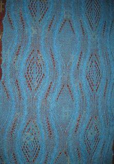 Ami jön: Kötött stóla. (Vagy shawl?)
