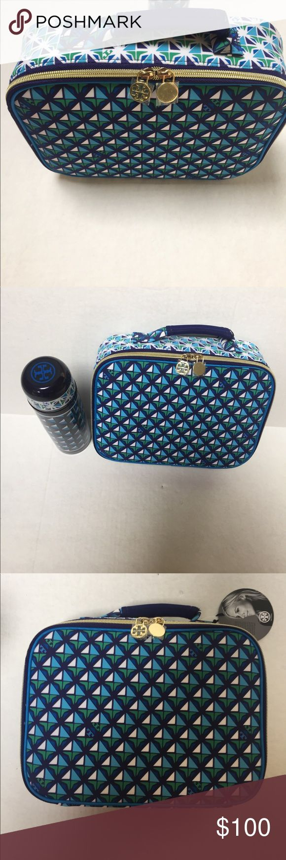 Tory burch lunch bag flask thermos nwt