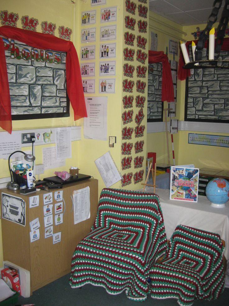 Castle classroom phonics area
