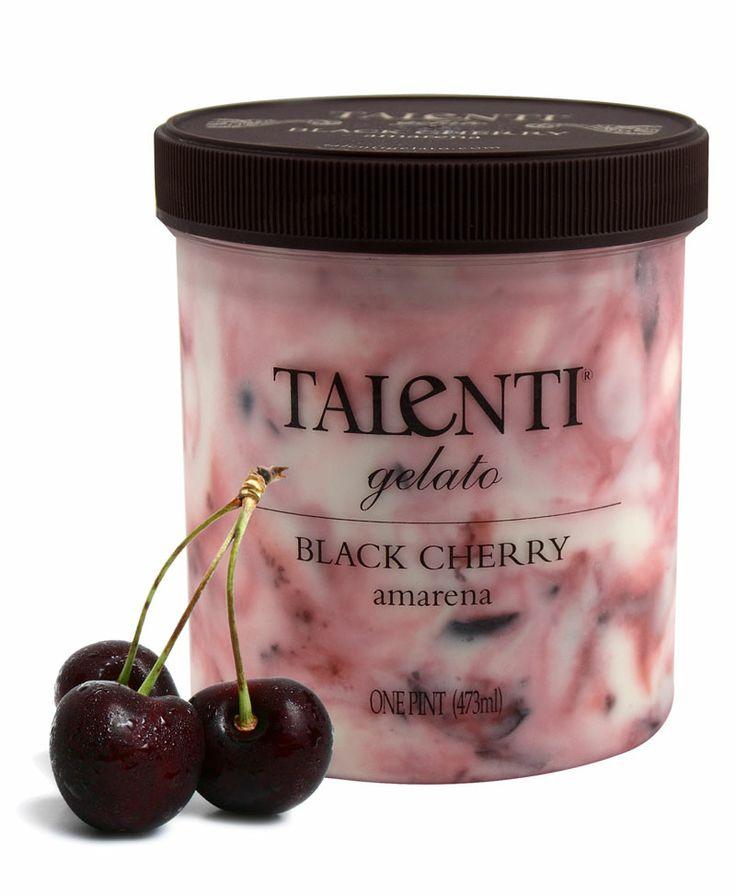 Talenti Gelato- Non soy flavors include: Roman Raspberry, Toasted Almond, Black Cherry, Caribbean Coconut, Lisbon Lemon, Blood Orange, and Alphonso Mango. Yummers!