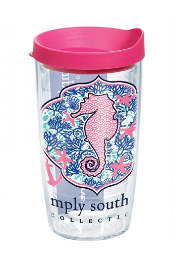 Tervis Tumbler: Simply Southern Seahorse 16oz