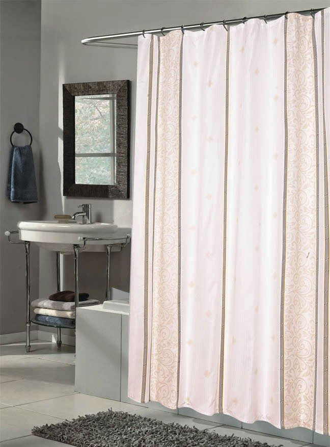 Best Extra Long Shower Curtain Ideas On Pinterest Long