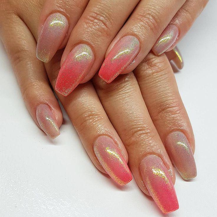 Naked w/ neon coral and mermaid effect  By @naglarbytanja #gelnails #gelenaglar #naglar #nails #nailartist #nailart #Stockholm #naglarstockholm #dopenails #nailsonfleek #holographicnails #lyxfransar #akrylnaglar #nagelförlängning #nagelteknolog #glitternaglar #beforeandafter #nagelsalong #prettynails #naildesigns #hudabeauty #acrylicnails #acrylic #nailswag #Lillynails #onfleek #qualitynails #pretty #instanails #picoftheday