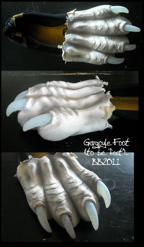 Gargoyle+Foot+by+Magpieb0nes.deviantart.com+on+@deviantART