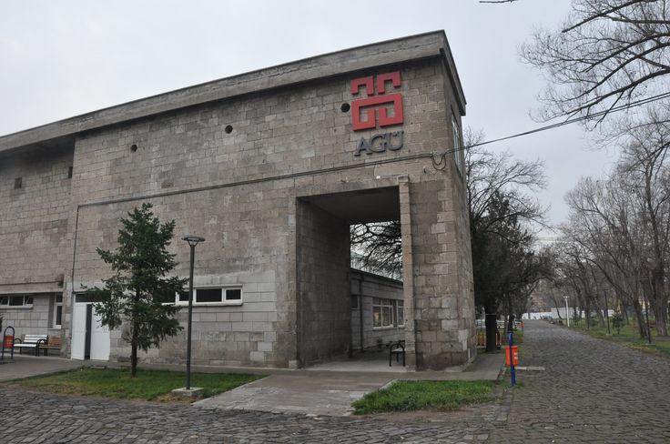 #Greenbin @ #AbdullahGülUniversity #KayseriSümerBezFabrikasi  with #EmreArolatMimarlık #EAA  Designed by #YaseminArtut Found on www.greenbin.com.tr