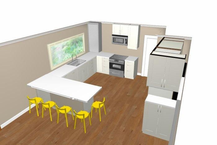 17 best images about house apartment on pinterest house for Kitchen configurations