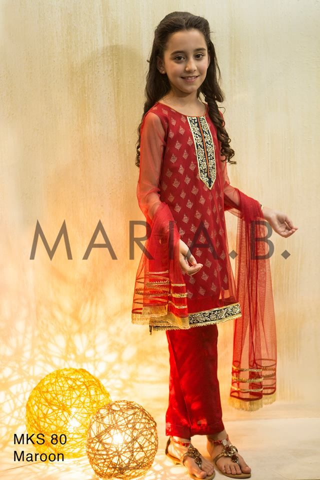 Maria.B. and Mkids Luxury Ready to Wear Eid Collection Vol-1 http://clothingpk.blogspot.com/2015/09/maria-b-luxury-ready-to-wear-eid-collection.html