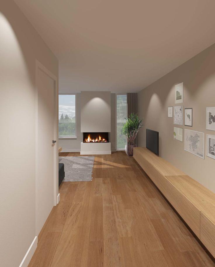 25 beste idee n over moderne woonkamers op pinterest moderne inrichting modern en witte sofa - Fotos van moderne woonkamer ...