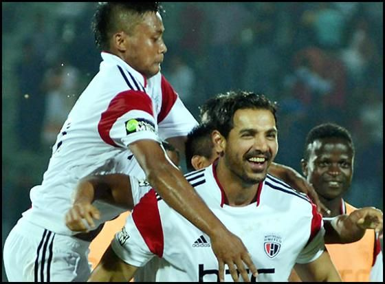 Indian super league: NorthEast United beats Kerala Blasters FC 1-0 http://www.morningcable.com/home/sports/38057-northeast-united-beats-kerala-blasters-fc-1-0.html  Indian Super League's second match was held between Sachin Tendulkar co-owned Kerala Blasters FC and NorthEast United FC's (NEUFC) at the Indira Gandhi stadium in Guwahati on Monday.