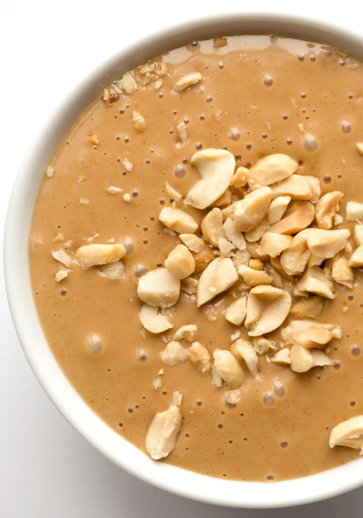 Back to basics recipe today.  Because peanut sauce makes everything better…
