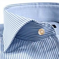Sleeve7 Hellblau Satin Gestreift  #babyblue #hemd #shirt #dressshirt #men #fashion #businesslook #style #gorgeous #DressShirt #SlimFit #cotton