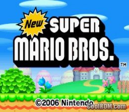 New Super Mario Bros. ROM Download for Nintendo DS / NDS - CoolROM.com