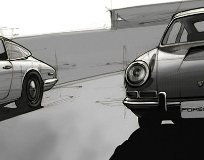 """Check out new work on my @Behance portfolio: """"Porsche 912"""" http://be.net/gallery/45712463/Porsche-912"""