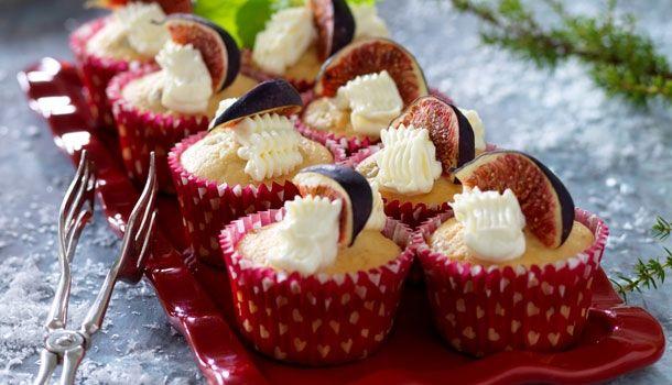 Muffins med figner