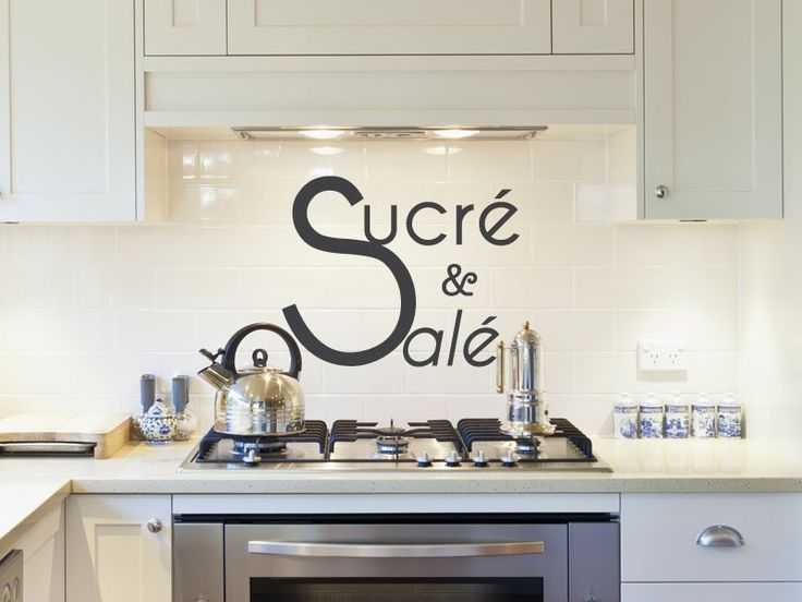 stickers de cuisine with stickers cuisine originaux. Black Bedroom Furniture Sets. Home Design Ideas