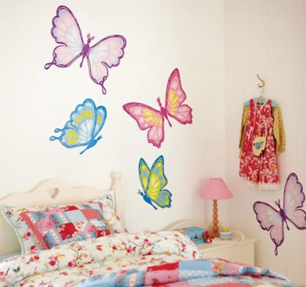 kinderkamer-muursticker-vlinders