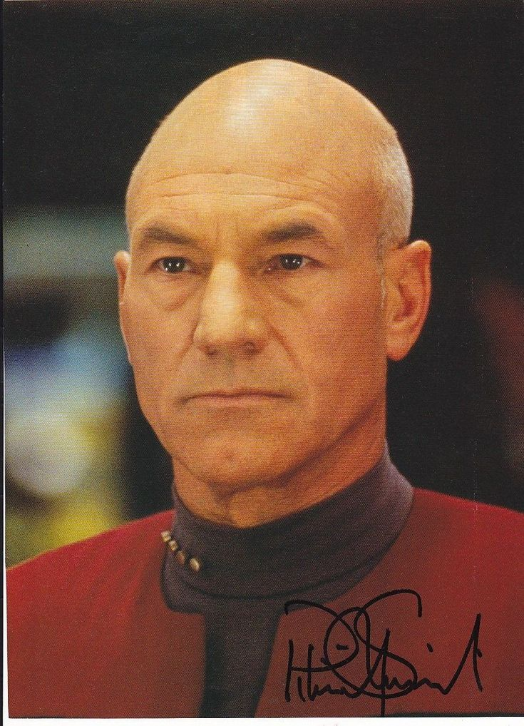 Patrick Stewart - Star Trek Generations signed photo | eBay