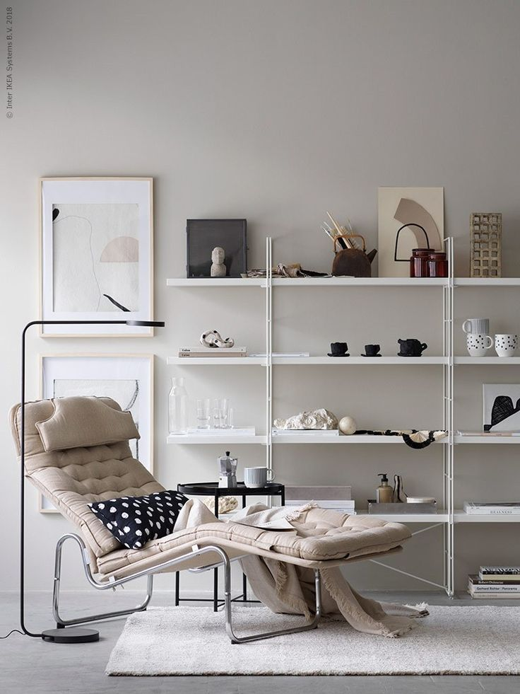 Living Room : Ikea Vintage Armchair In Beige Via Coco Lapine Design Blog
