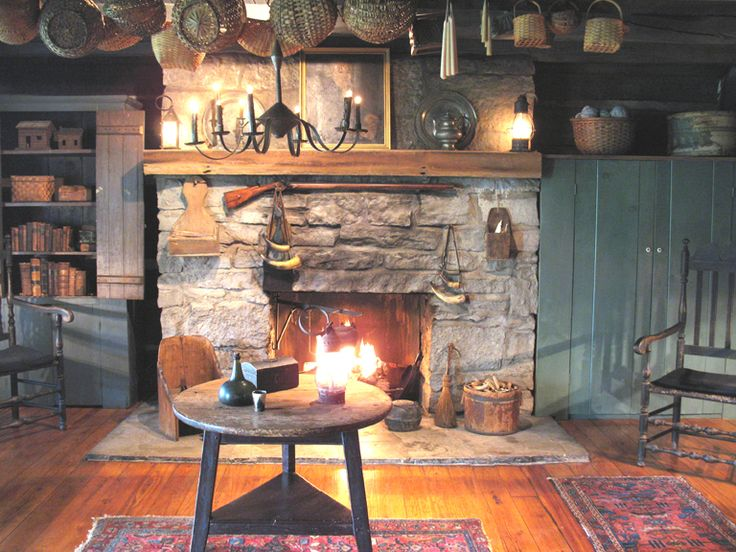 17 Best images about Early American Fireplaces on ...