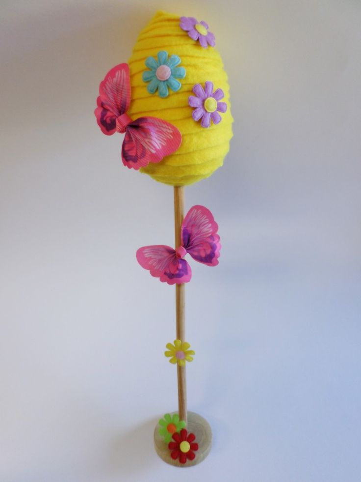 Velikonoční tvoření s dětmi: Vajíčko na stojánku