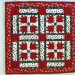 Miniature Bear's Paw Quilt - Quilt by Janice Jackson Miniature quilt gallery