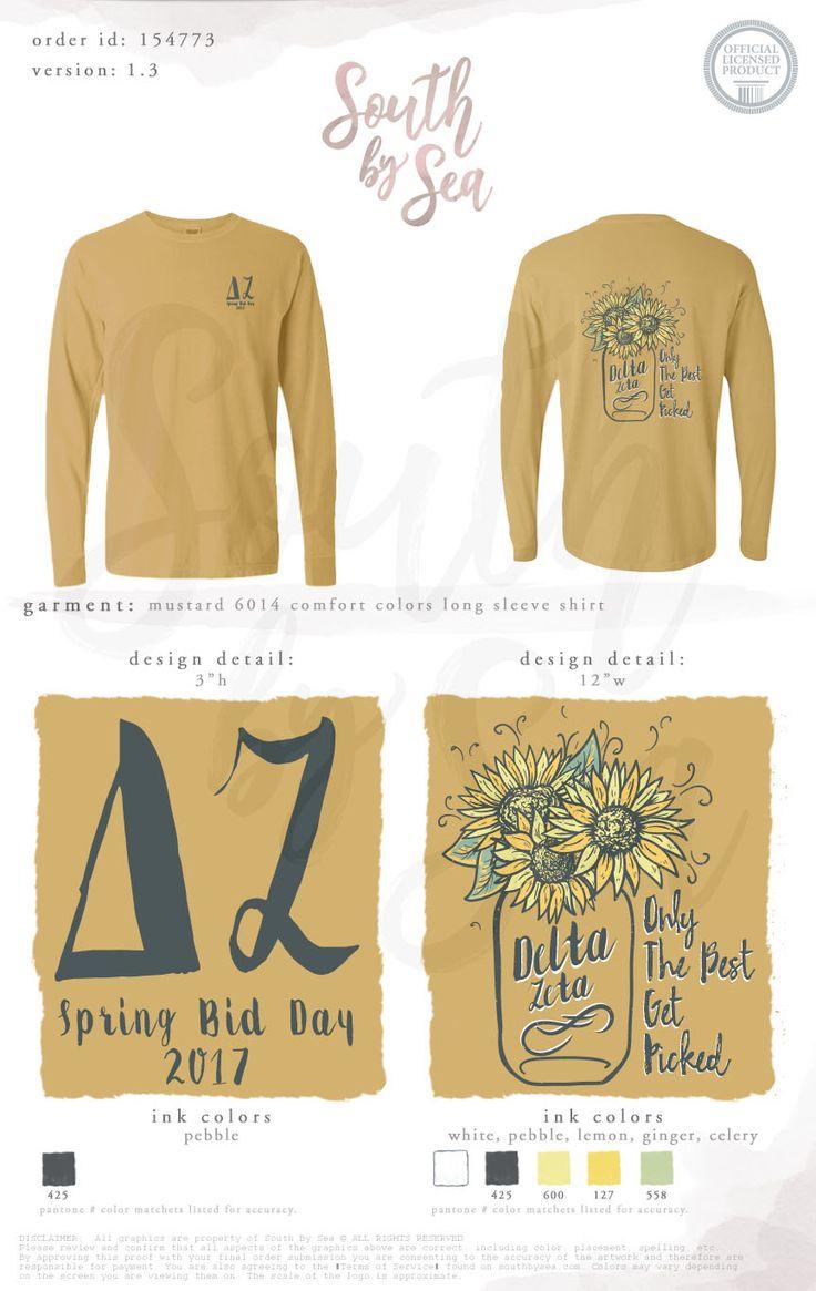 166 best delta zeta images on pinterest delta zeta tee for Sorority t shirts designs