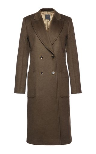 Light Cashmere Double Breasted Coat by AGNONA for Preorder on Moda Operandi