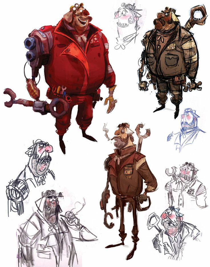 Jesse Aclin: Character Designer | Character Design
