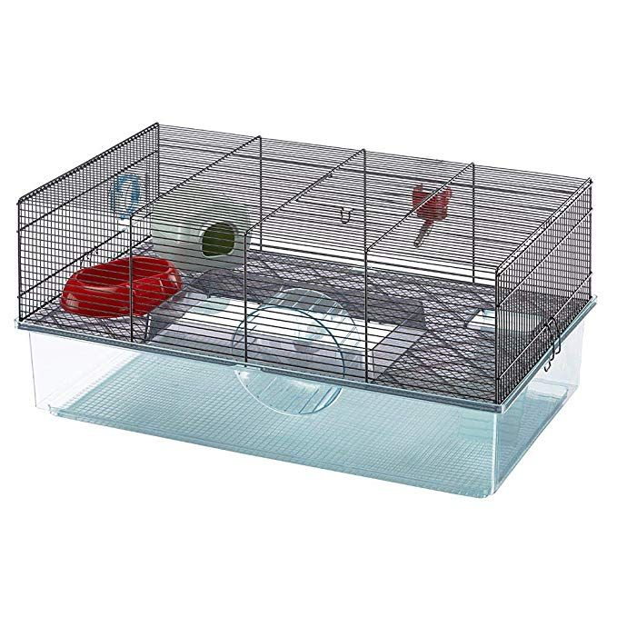 Amazon Com Favola Hamster Cage Includes Free Water Bottle Exercise Wheel Food Dish Hamster Hide Out Cool Hamster Cages Large Hamster Cages Hamster Cage
