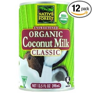 Native Forest Coconut Milk - BPA-free cans, kosher, organic $2.07/can
