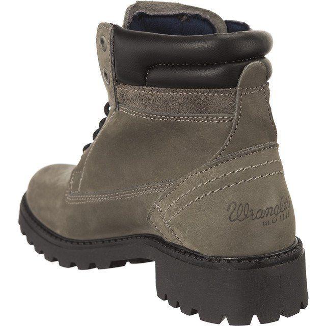 Trekkingowe Damskie Wrangler Szare Wrangler W Creek Quiet Grey 4ub Boots Fashion Winter Boot