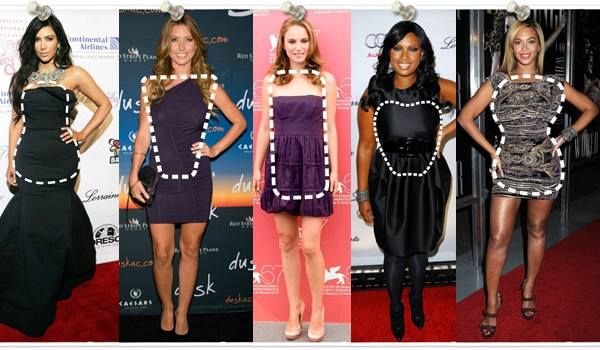 How to choose a right dress according to your body shape? Fashion guide