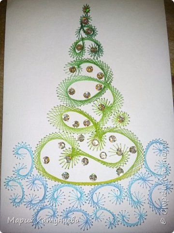 И вот она нарядная....... ))))))))))))) Попробую описать создание такой ёлочки.... фото 1