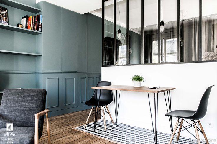 Rénovation appartement à Paris XI, Paris, Royal Roulotte - décorateur…