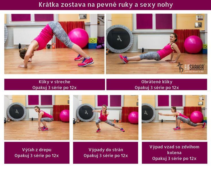 Cviky na zadok, triceps aj stehná. Náročnejšia krátka zostava, pri ktorej si na svoje prídu všetci. Ideálne cvičenie pre ženy, ale aj pre mužov.