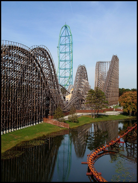 Kingda Ka, El Toro, and Runaway Train at Six Flags, Jackson NJ ONE OF TIM'S AND MINE FAVORITE THEME PARKS!! :)