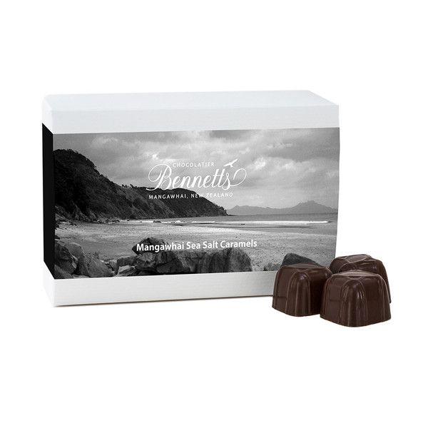 Bennetts of Mangawhai - Chocolates (the BEST BEST BEST sea salt caramel chocolate I have EVER eaten!!)
